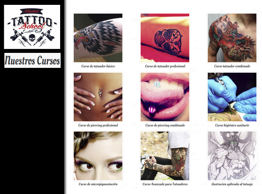 Cursos Tatoo School Madrid